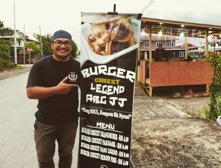 Burger Cheezy Legend Abang JJ Dapat Sambutan Yang Menggalakkan