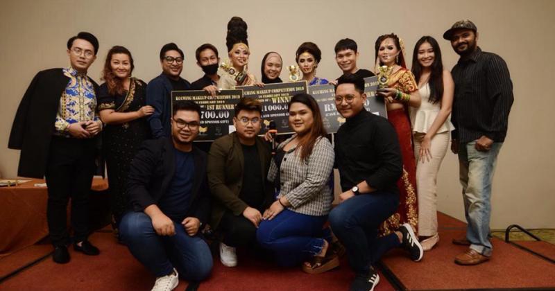 Kuching Makeup Competition 2019 Mencabar 29 Peserta Yang Bertemakan Glam Bollywood