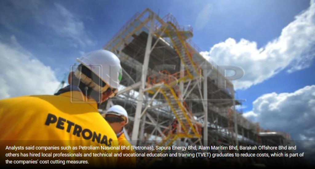 Oil and gas sector hires more local graduates, trims forex losses