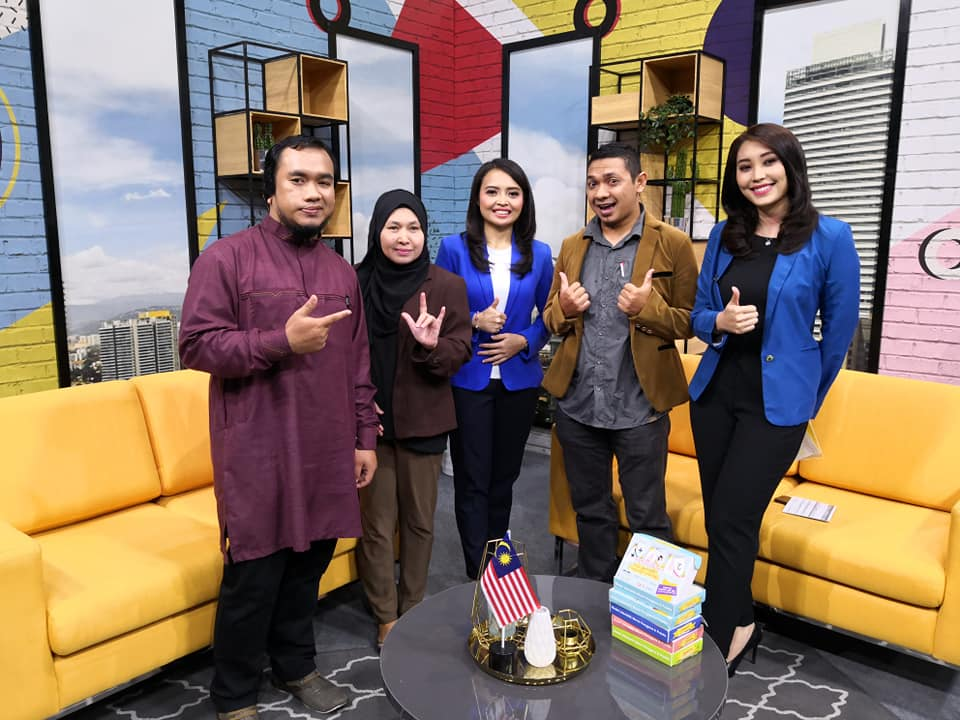 'Siasitok Sign Language AR Flashcard' bersiaran secara langsung di RTM TV1