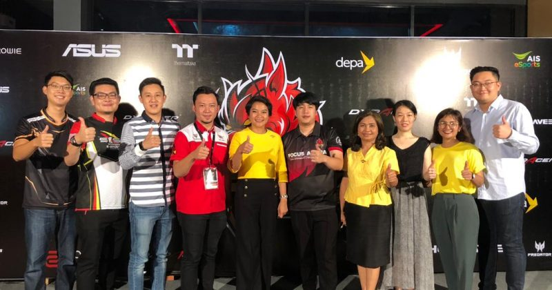 Sarawak Esports Association (SESA) & their affiliate, Miri Esports Association (MESA) were invited to Khon Kaen Province, Thailand to witness the Grand Opening of Focus Arena Esports Complex
