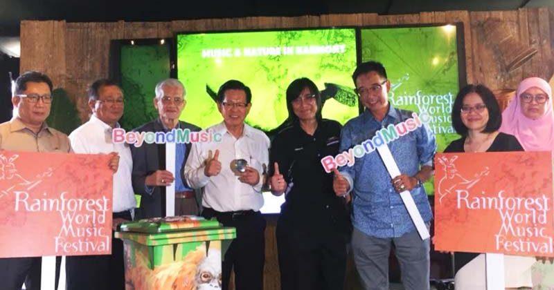39 groups to take part in Sarawak Rainforest World Music Festival