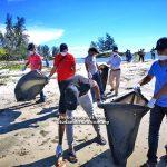 KEC International holds 'Air pollution public awareness' drive at Tg Batu beach
