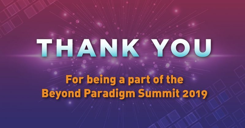 Beyond Paradigm Summit 2019