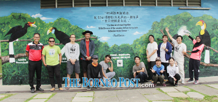 Conservation key theme of WWF-M'sia's mural project
