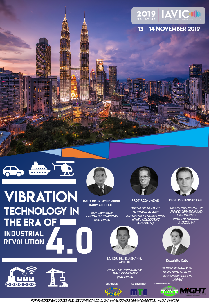 IAVIC 19′ : International Applied Vibration Conference
