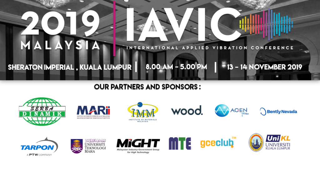🤖 About IAVIC IMM International Applied Vibration Conference (IAViC) 2019