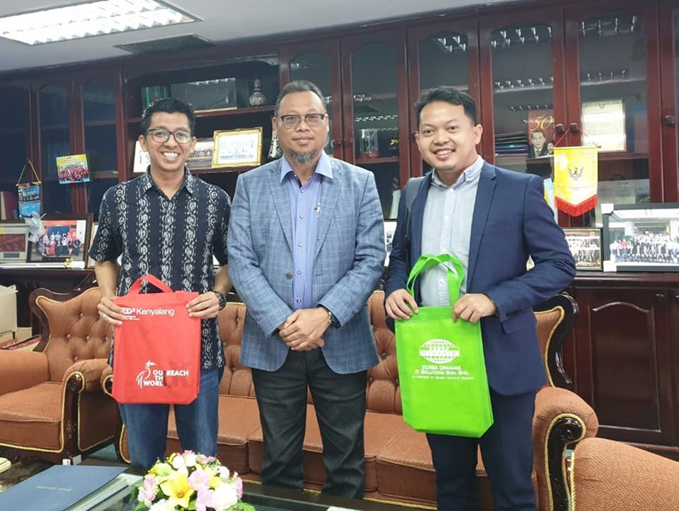 Kunjungan Hormat Ke Pejabat Tuan Residen Kota Samarahan, Hj Ibrahim Lumpu