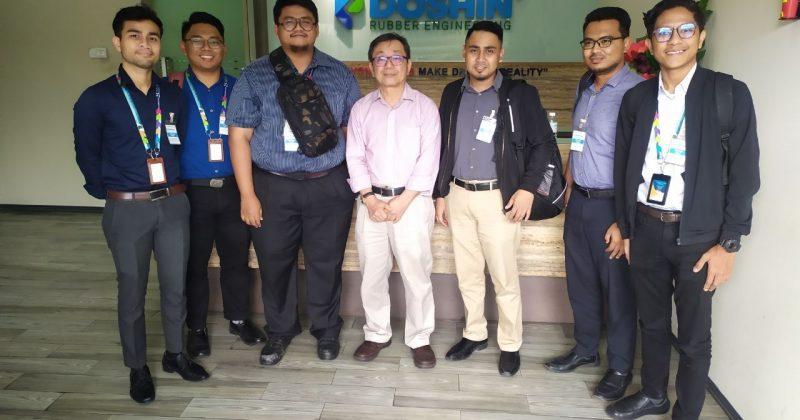 IAViC2019 Organising Committee Visit To Doshin Rubber Engineering