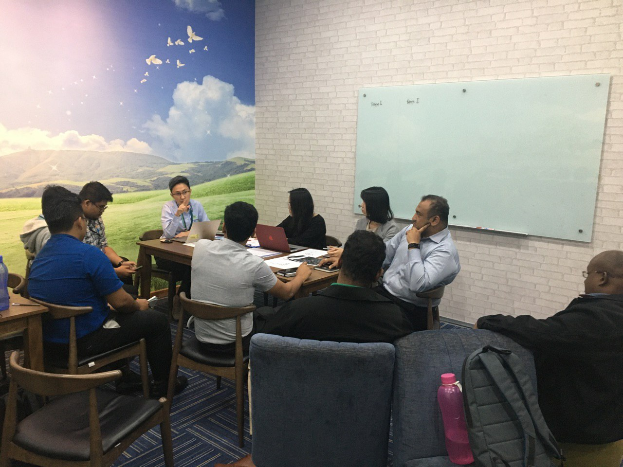 IAViC2019 Organising Committee preparation meeting hosted at Menara Serba Dinamik