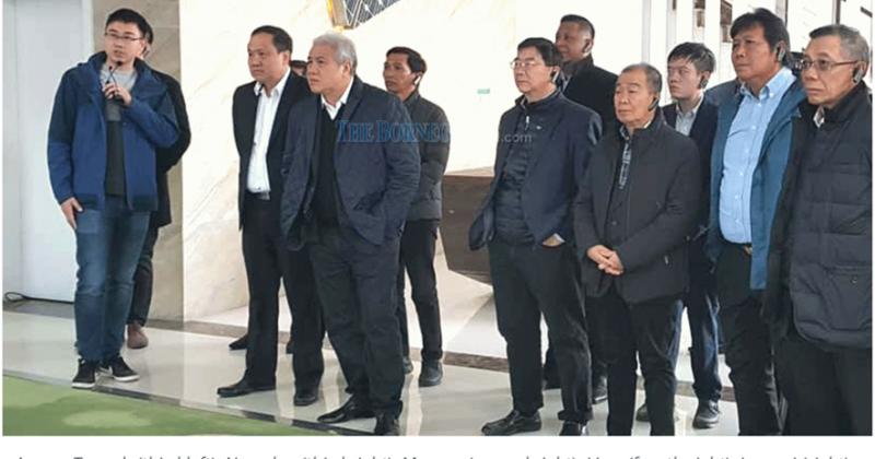 Awang Tengah leads delegation to visit solar manufacturing plant in Shanghai