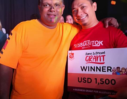 Siasitok secured Dare to Dream Grant AirAsia 2019