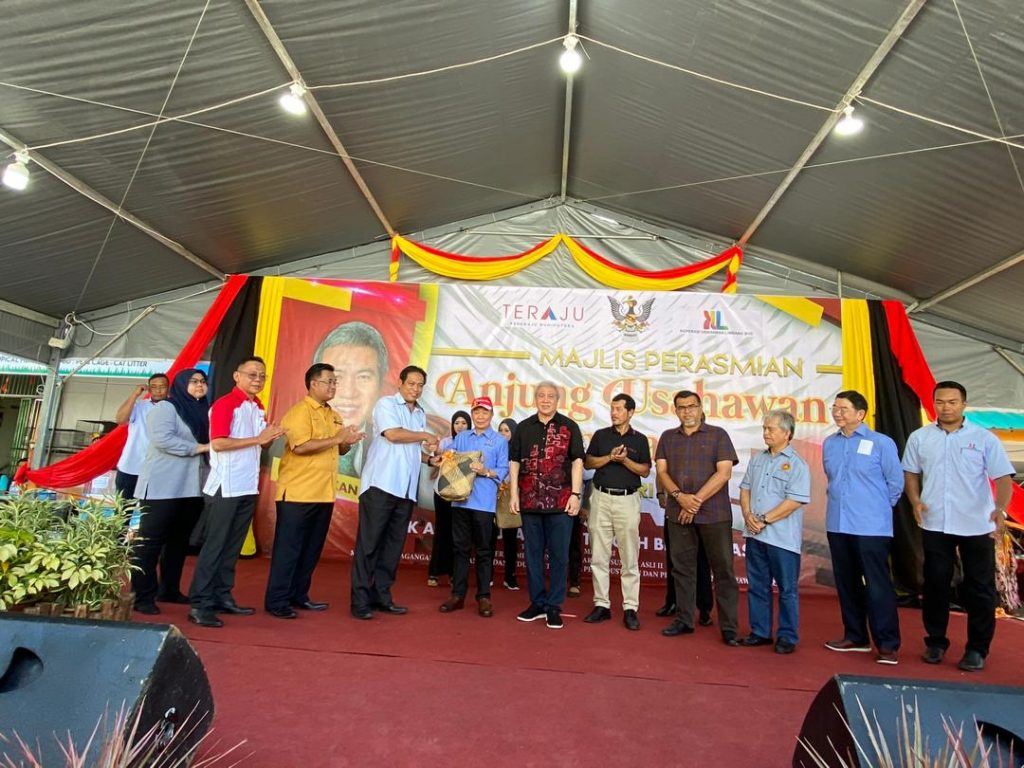 "Opening of ""Limbang Entrepreneur"" by The Deputy Chief Minister of Sarawak"