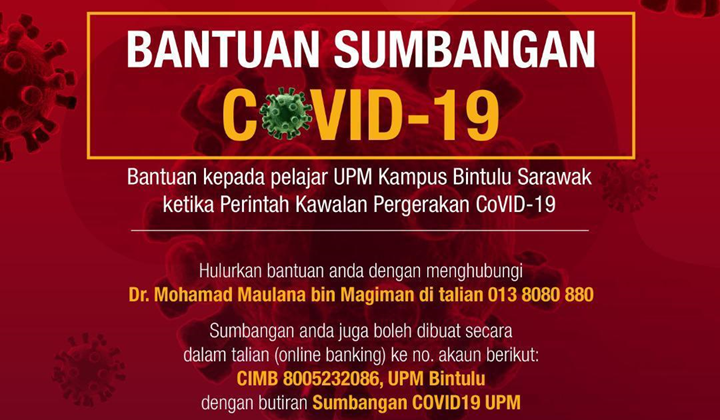 Bantuan kepada pelajar di UPM Kampus Bintulu Sarawak