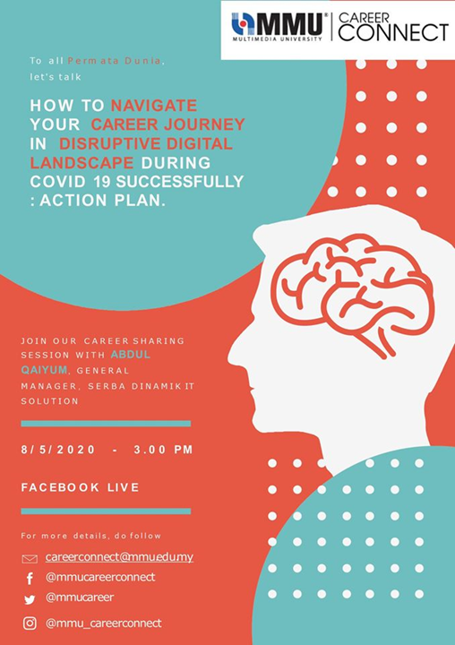 Let's Talk 1 : How To Navigate Your Career Journey in Disruptive Digital Landscape During Covid 19 Successfully : Action Plan