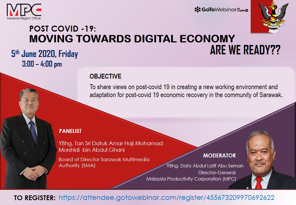 `POST-COVID 19: MOVING TOWARDS DIGITAL ECONOMY, ARE WE READY??'