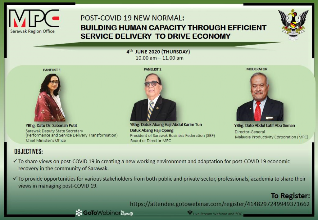 `POST-COVID 19 NEW NORMAL: BUILDING HUMAN CAPACITY THROUGH EFFICIENT SERVICE DELIVERY TO DRIVE ECONOMY'