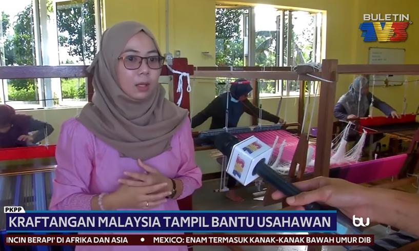 PKPP | Kraftangan Malaysia Tampil Bantu Usahawan