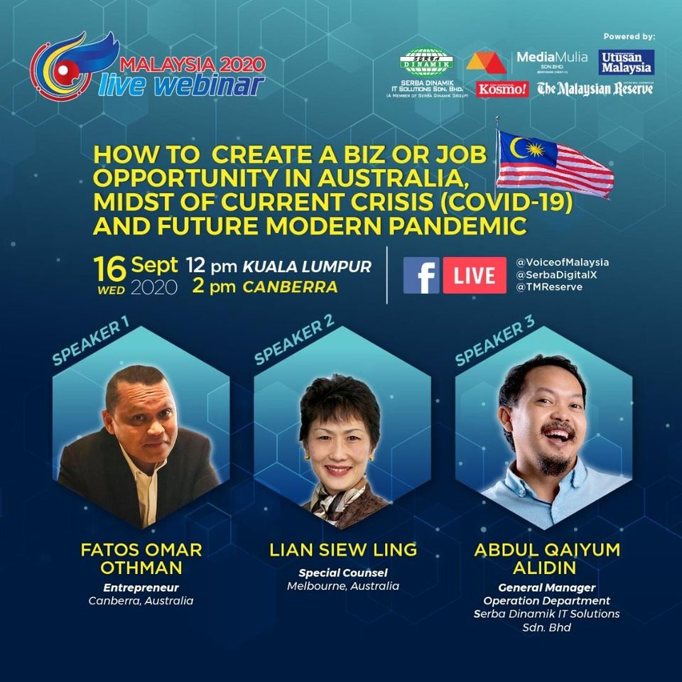 Malaysia2020 LIVE Webinar