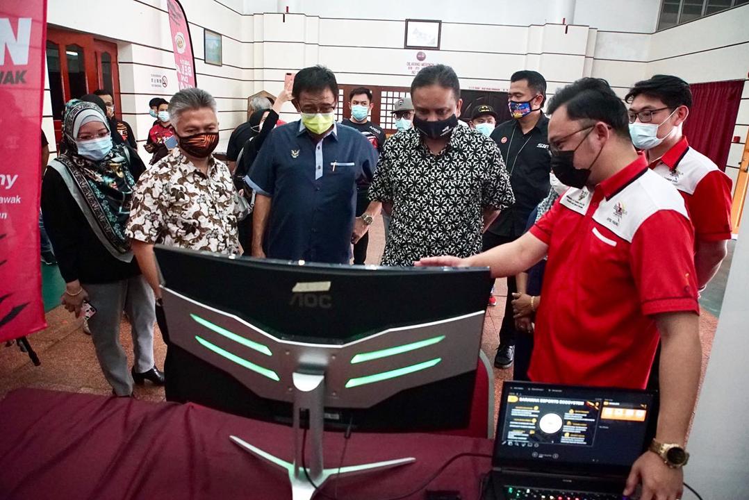 KBS Peruntuk RM250,000 Untuk Sarawak Esports Association
