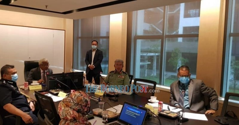 Masing: Sarawak looking at acquiring scramblers, ATVs, 4X4, drones to beef up border security